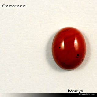 RED JASPER Gemstone - 10x8mm Oval Loose Stone