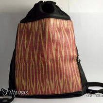 "TRIBAL BACKPACK <span class=""subtitle"">- Foldable Ethnic Tboli Design </span>"