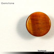 TIGER EYE Gemstone - 10mm Round Yellow Tigers Eye Loose Stone