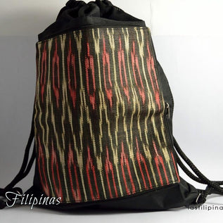 Tribal Backpack - Foldable Ethnic Tboli Design
