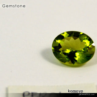 PERIDOT Gemstone - 10x8mm Oval Green Loose Stone