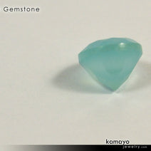 "BLUE CHALCEDONY Gemstone <span class=""subtitle subtitle-1"">- 10mm Round Loose Stone </span>"