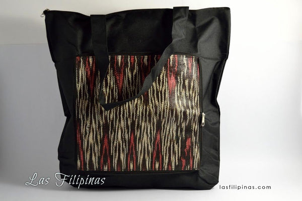 Tribal Handbag - Foldable Ethnic Tboli Tote Design