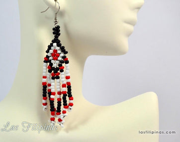 Tribal Earrings - Ethnic Tboli Design