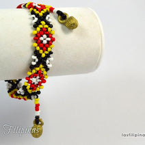 Tribal Anklet - Ethnic Mandaya Design