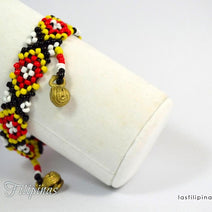 "TRIBAL ANKLET <span class=""subtitle"">- Ethnic Mandaya Design </span>"