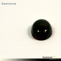 BLOODSTONE Gemstone - 10x8mm Oval Green Loose Stone