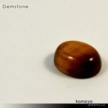 "TIGER EYE Gemstone <span class=""subtitle subtitle-1"">- 10x8mm Oval Yellow Tigers Eye Loose Stone </span>"