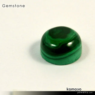 MALACHITE Gemstone - 10mm Round Green Loose Stone