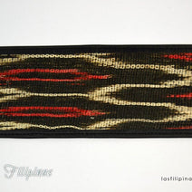 Tribal Billfold Wallet - Ethnic Tboli Design