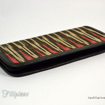 "TRIBAL CLUTCH WALLET <span class=""subtitle"">- Ethnic Tboli Design </span>"
