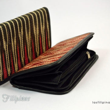 Tribal Clutch Wallet - Ethnic Tboli Design