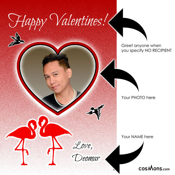 "Custom Valentine Card <span class=""subtitle subtitle-1"">- Digital Greetings for Your Beloved</span> <span class=""subtitle subtitle-2"">- Perfect as Facebook Photo</span>"