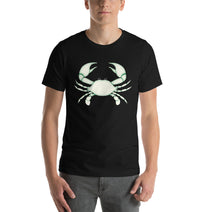 Cancer T Shirt - Sign Symbol - White Crab Graphics