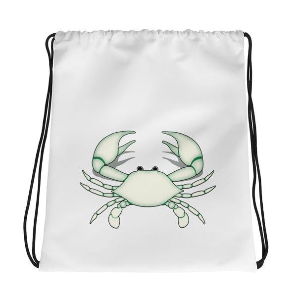 Cancer Bag - Zodiac Symbol - White Crab Graphics
