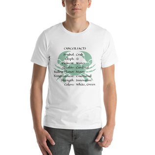 Cancer Facts Shirt - Zodiac T-Shirt For Men And Women (Unisex)