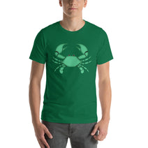 Cancer T Shirt - Zodiac Symbol - Green Crab Graphics