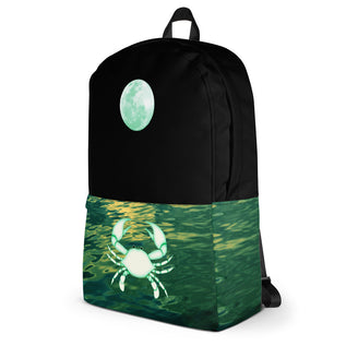 Cancer Backpack - Zodiac Element And Ruling Planet Bag