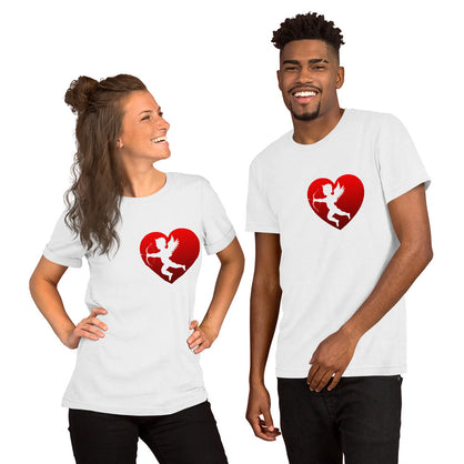 Cupid in Heart Shirt