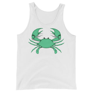 Cancer Tank Top - Zodiac Symbol - Green Crab Graphics