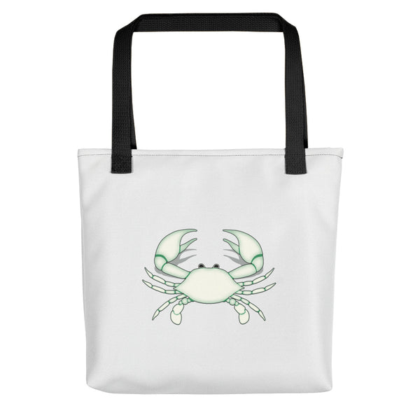 Cancer Tote Bag - Zodiac Symbol - White Crab Graphics