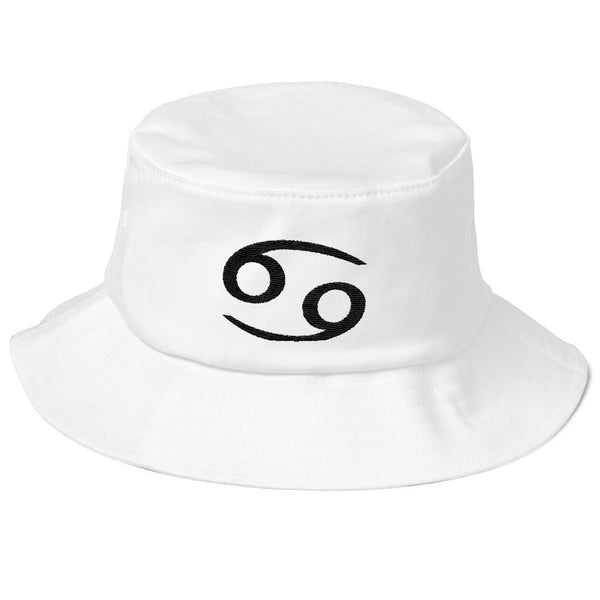 Cancer Hat - Zodiac Text Symbol Design