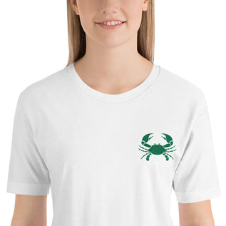 "CANCER T SHIRT <span class=""subtitle subtitle-1"">- Sign Logo Embroidery </span><span class=""subtitle subtitle-2"">- Zodiac Shirt for Women </span>"