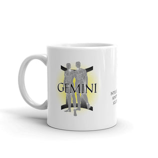 "GEMINI MUG <span class=""subtitle subtitle-1"">- Twins, Constellation, Symbol Text and Traits Cup </span><span class=""subtitle subtitle-2"">- Zodiac Coffee Mug </span>"