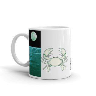 Cancer Mug - Constellation, Element And Ruling Planet Cup