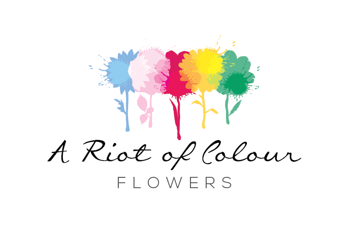 A Riot of Colour logo