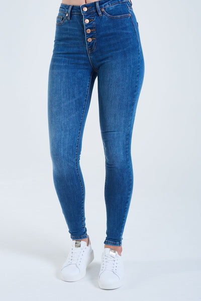 ROXIE High Rise SKINNY BLUE
