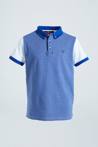 Max Boys Polo Blue