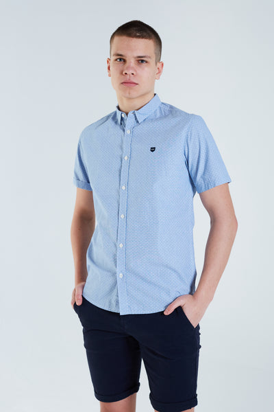 Berty S/S Shirt Blue