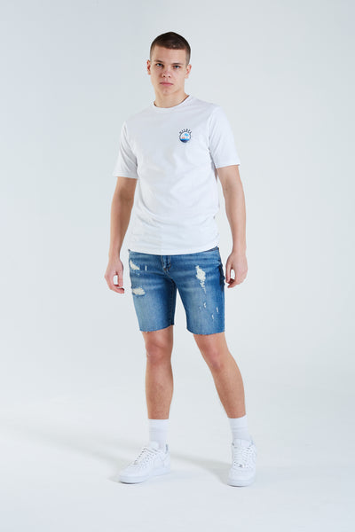 Preston Tee OPTIC WHITE