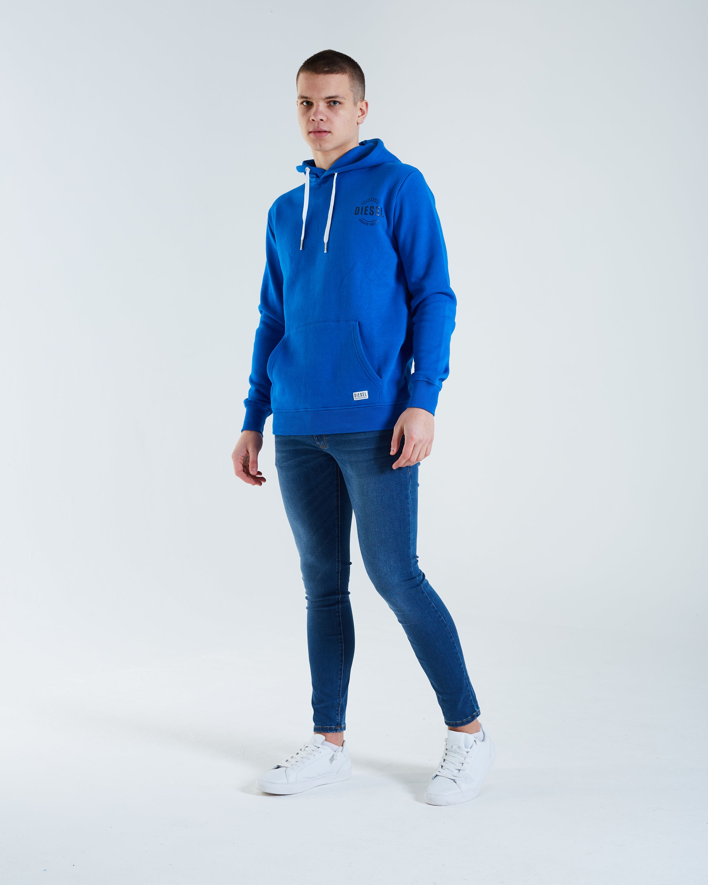 Tommy Hoodie Nautical Blue