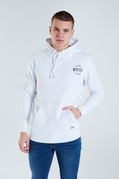 Tommy Hoodie Optic White