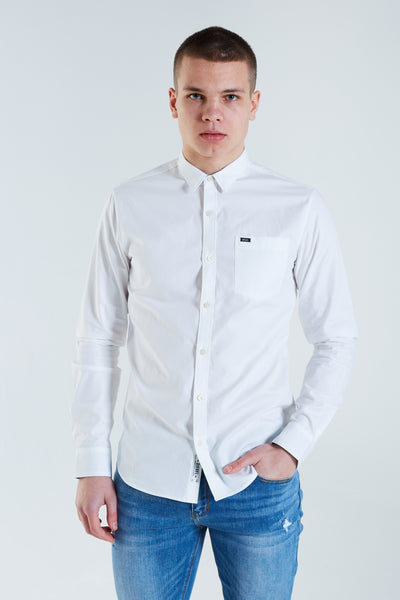 Basil L/S Shirt White