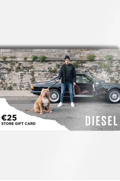 Diesel In-Store Only Gift Card €25