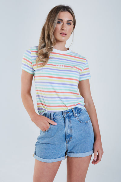 Winnie T-Shirt Multi Stripe