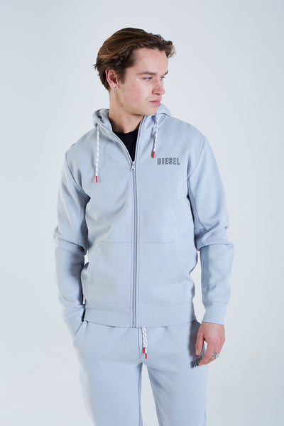 Finn Zipper Supreme Light Grey
