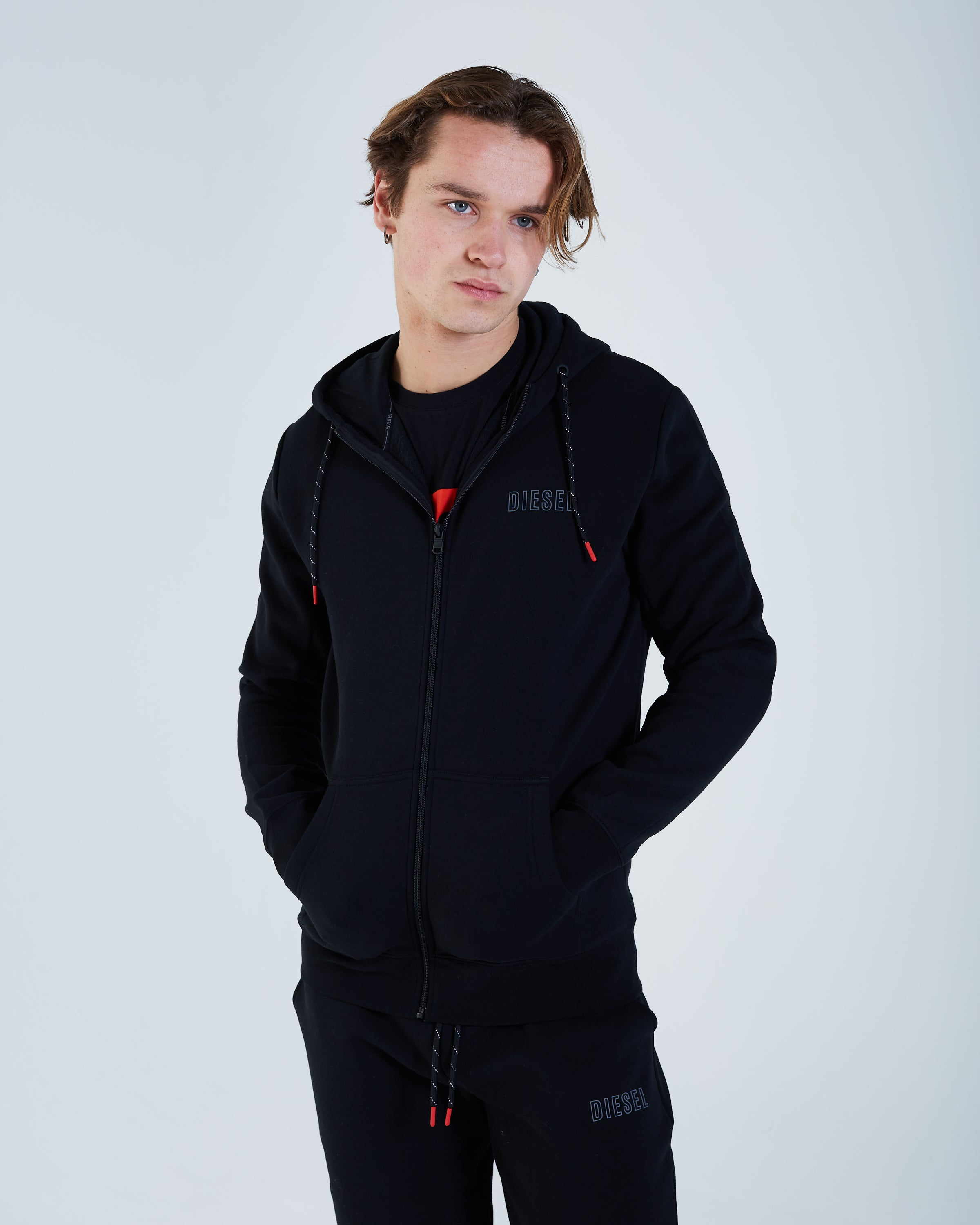 Finn Zipper Black