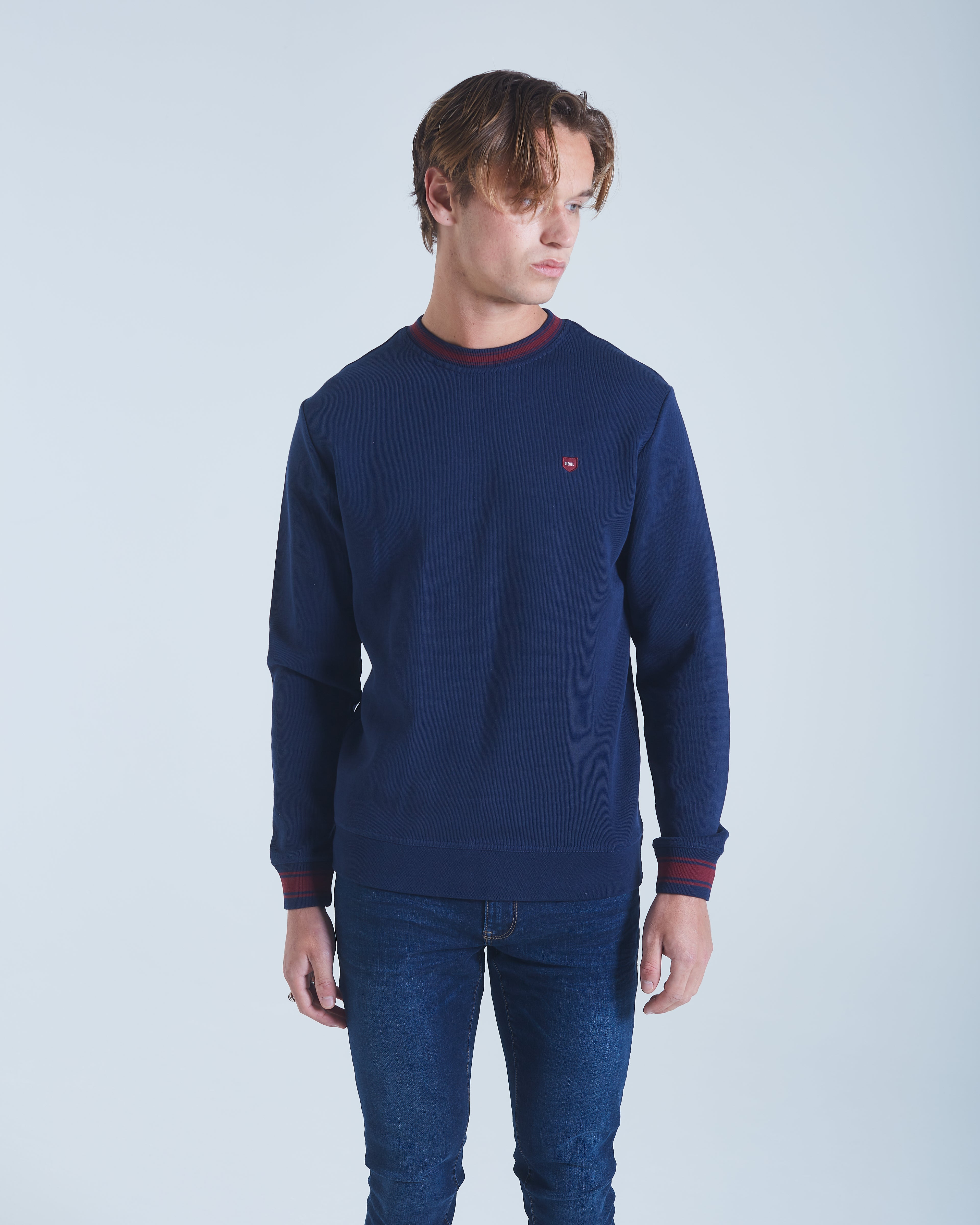 Allen Sweater Navy Iris