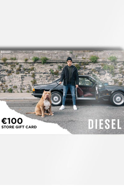 Diesel In-Store Only Gift Card €100