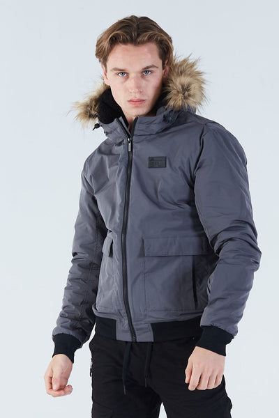 Bartolo Jacket Basalt Grey