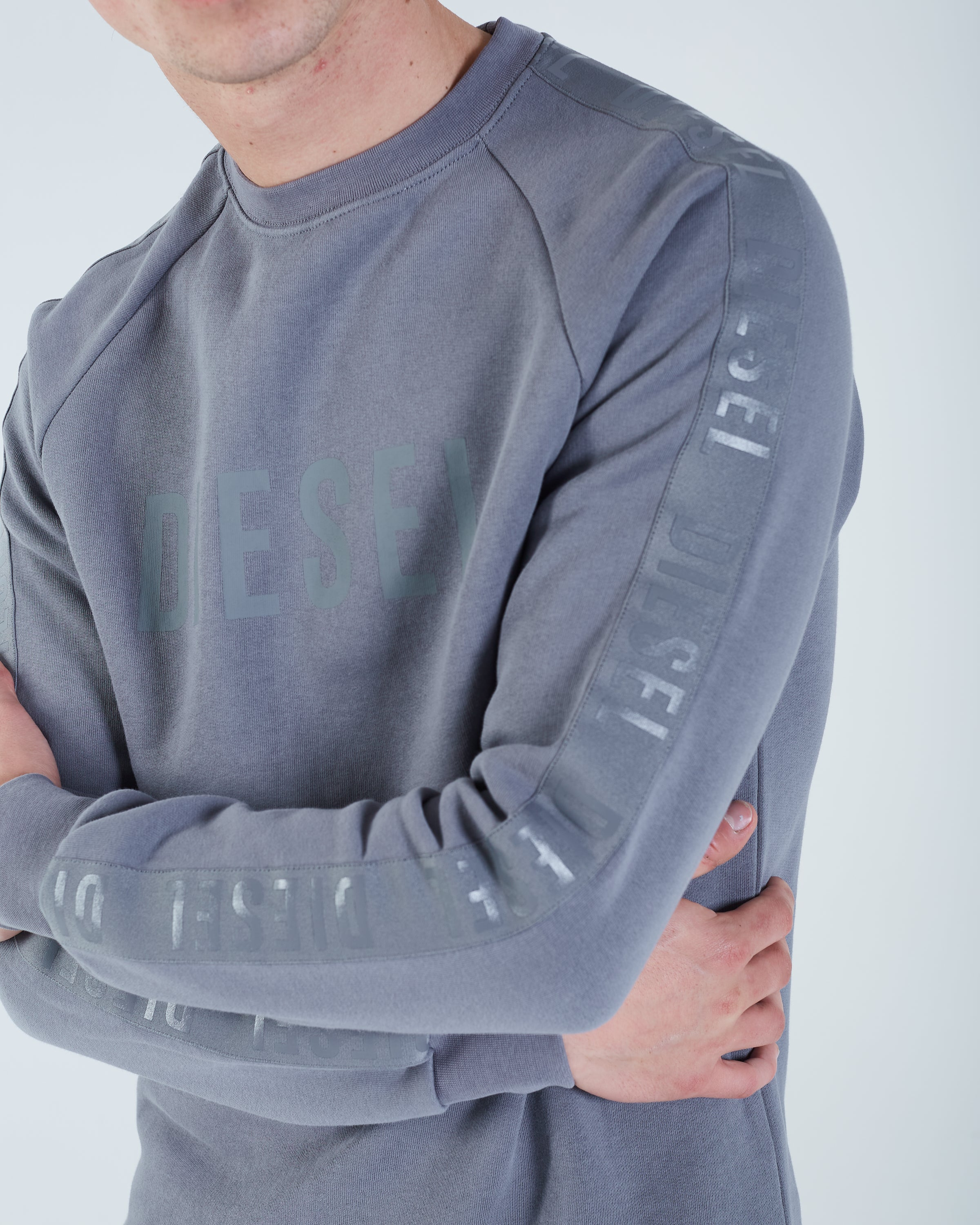 Francesco Sweater Hurricane Grey