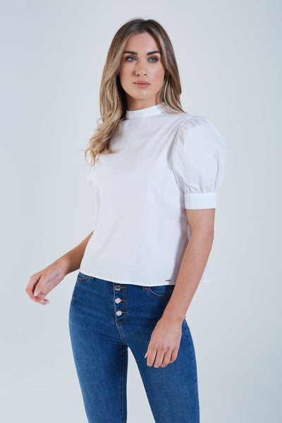 Marissa Top Optic White