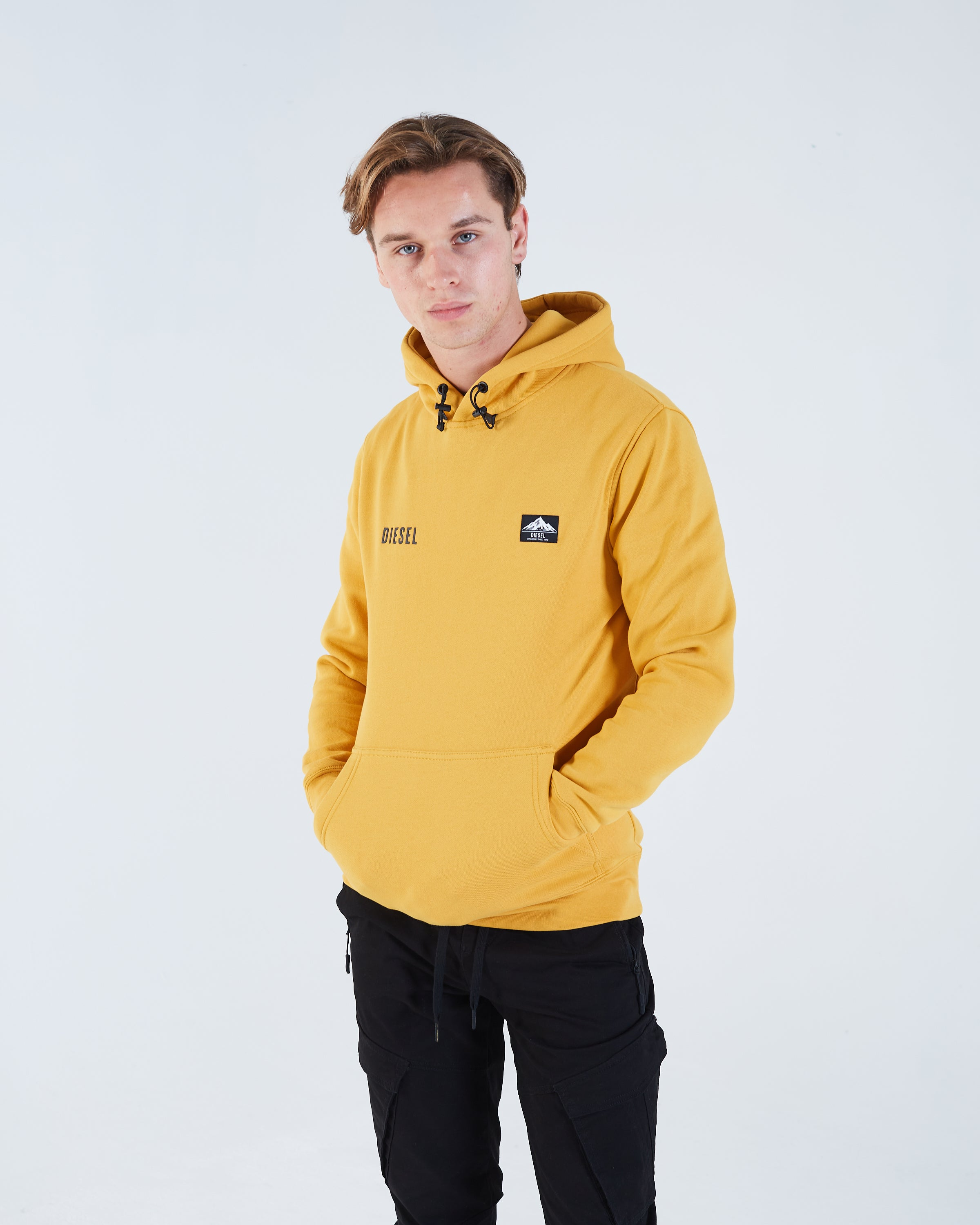 Ossian Hoodie Mineral Yellow
