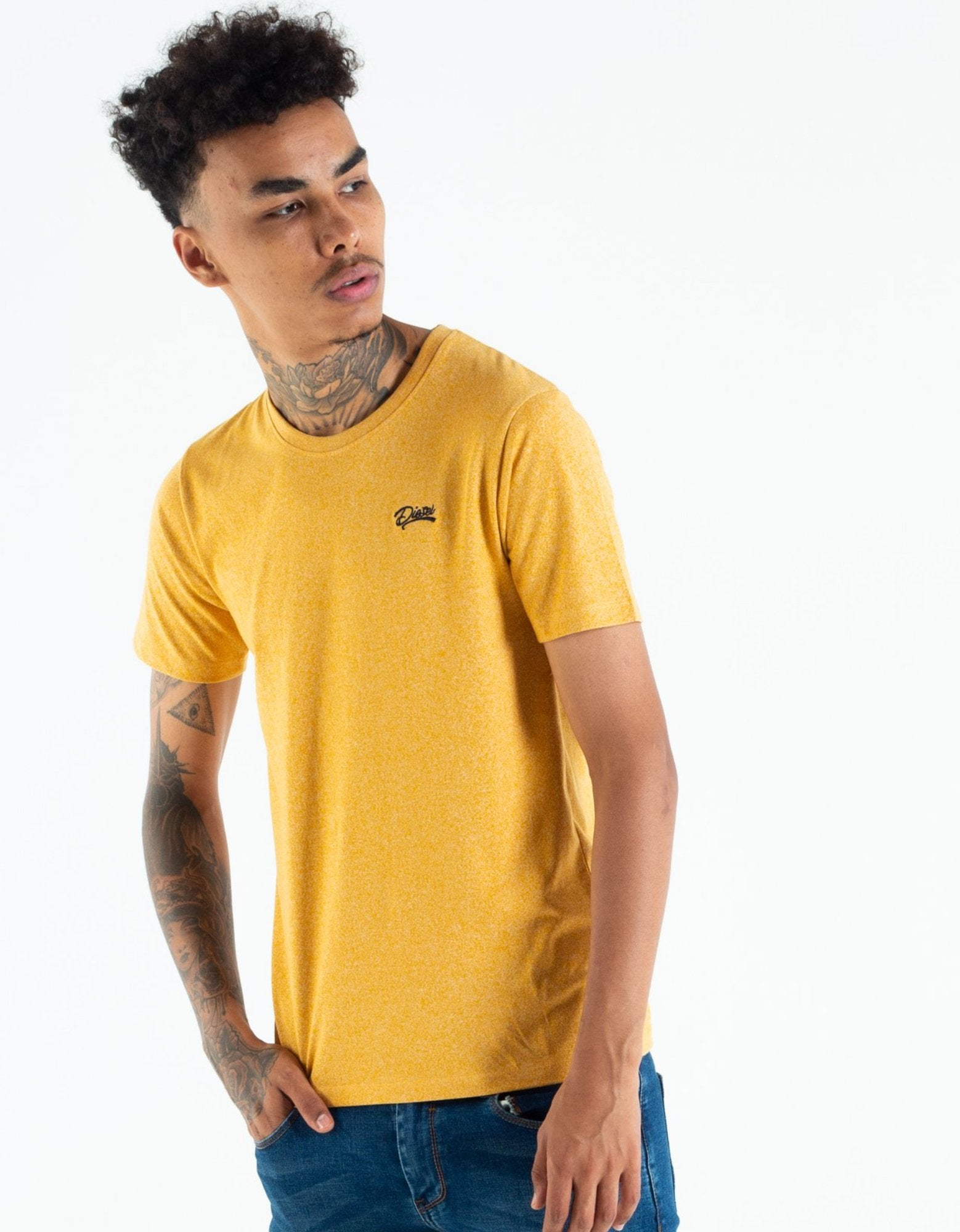 Basic Matt O Neck Tee Citrus