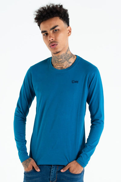 basic scott l/s tee emerald sea