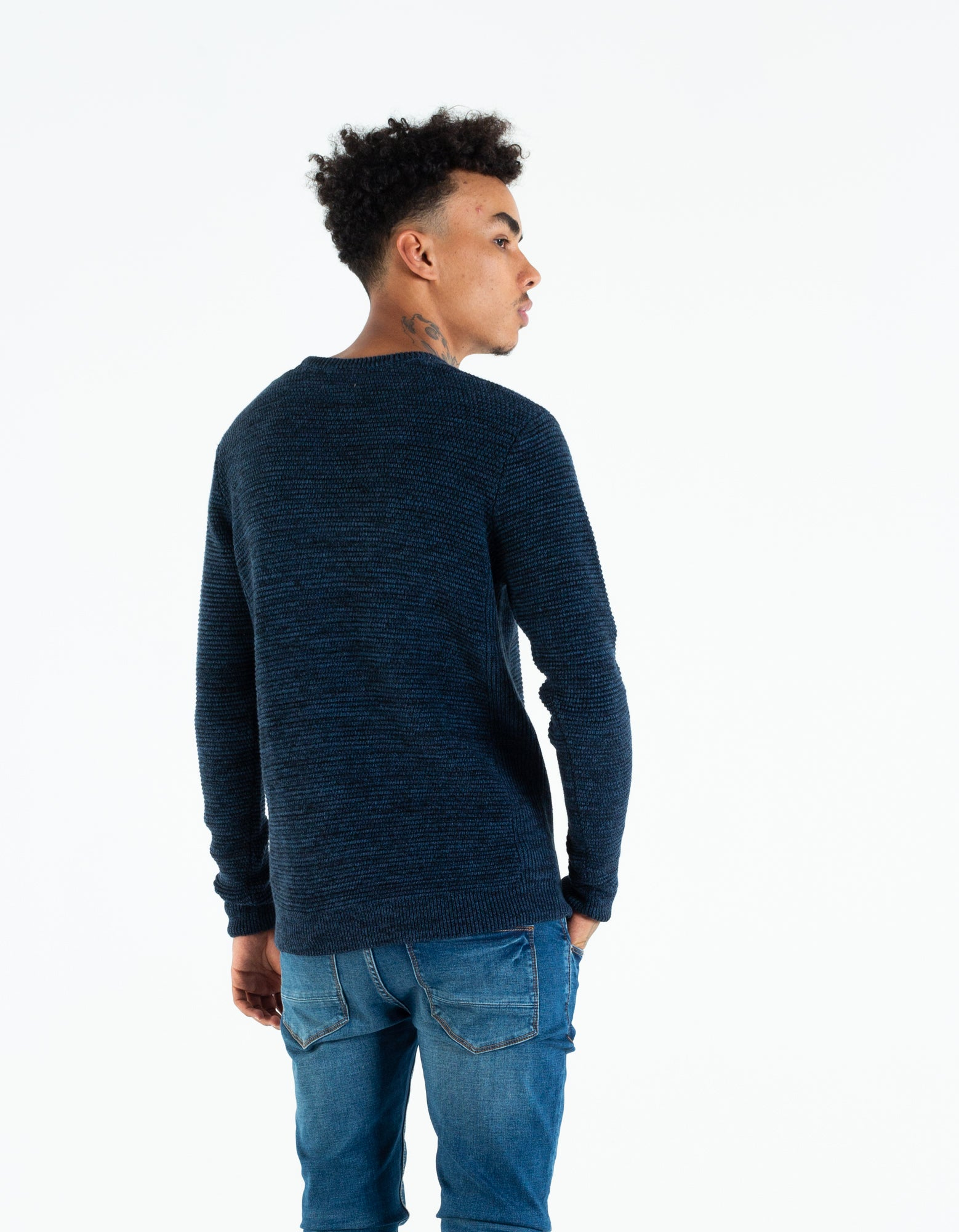 Carey Knit Navy